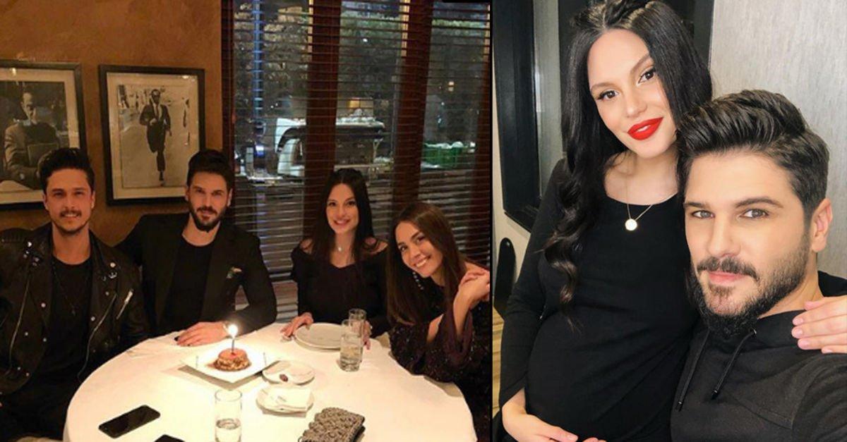 Almeda Abazinin bebeği göründü