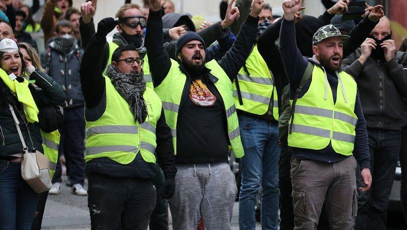 Fransada işverenlerin çoğu sarı yeleklileri destekliyor 43