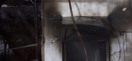 Balıkesir'de ev yangını: 1 ölü