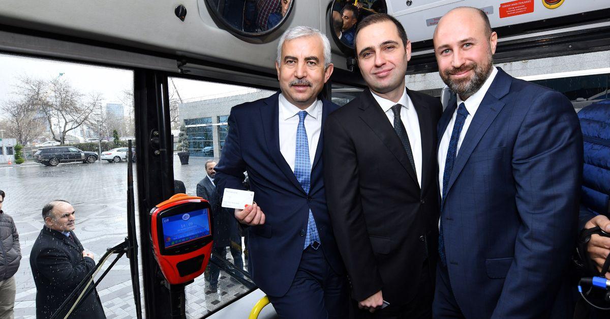 Başkentte toplu taşımada temassız ödeme dönemi 42
