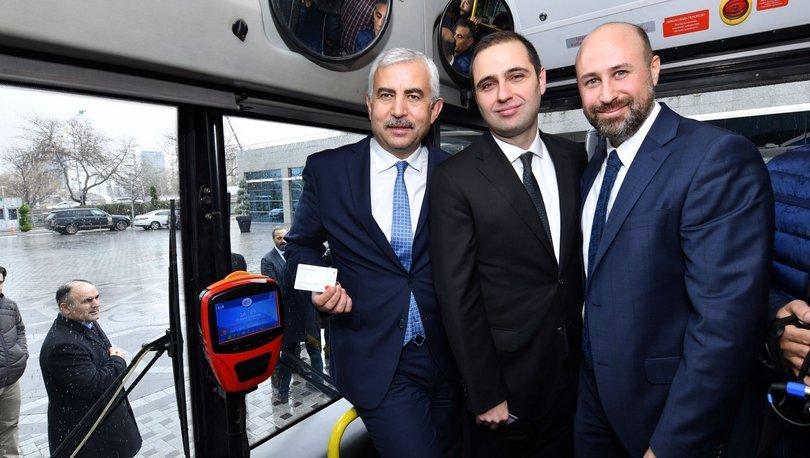 Başkentte toplu taşımada temassız ödeme dönemi 74