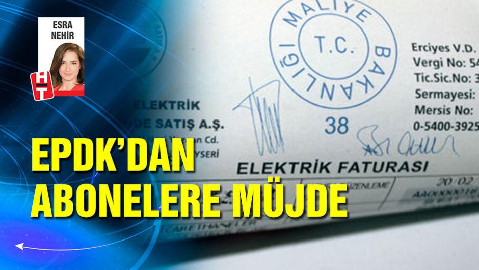 EPDK'tan abonelere müjde
