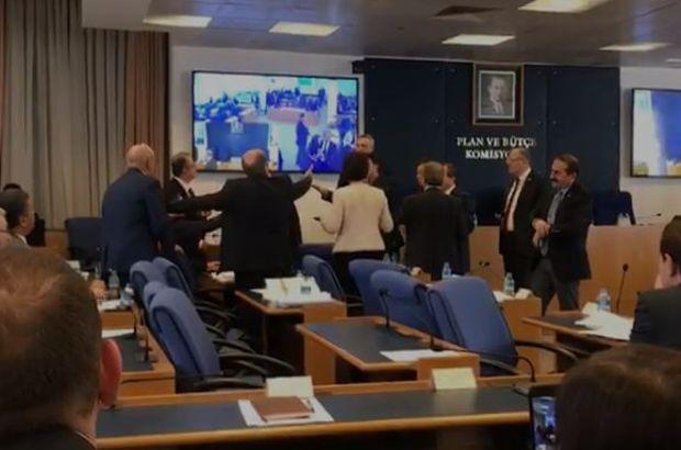 Komisyonda Metin Akpınar kavgası