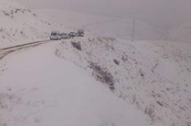 Kastamonu ulaşıma kar engeli