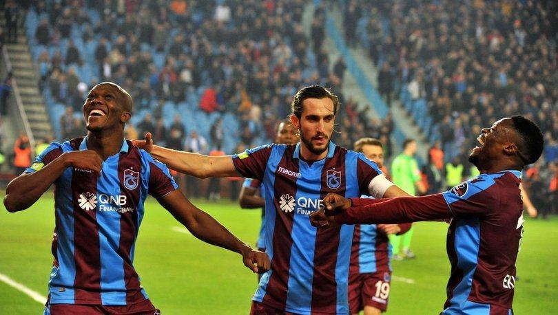 Trabzonspor, istatistiklerde de zirveye ortak
