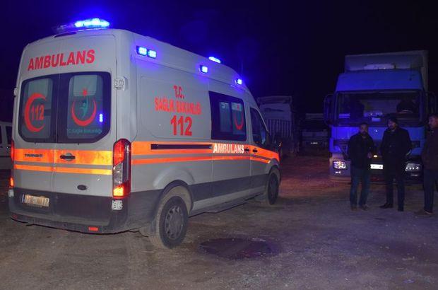 TIR şoförü otoparkta ölü bulundu