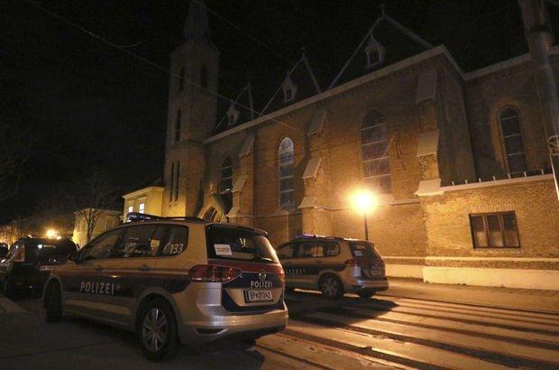 Viyana'da kiliseye saldırı! 15 kişi yaralandı