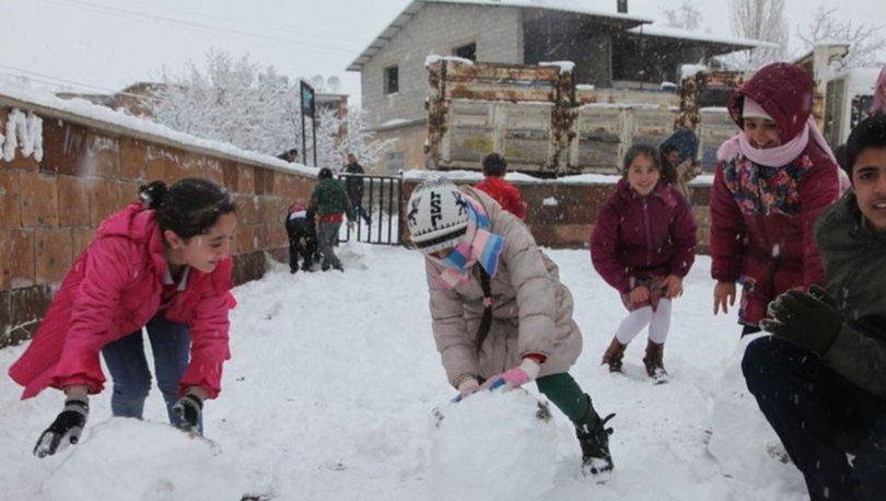 Nevşehir'de yarın okullar tatil mi? 28 Aralık Cuma Nevşehir kar tatili!