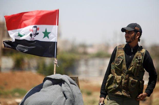 Reuters: Suriye ordusu Münbiç'e bayrak dikti