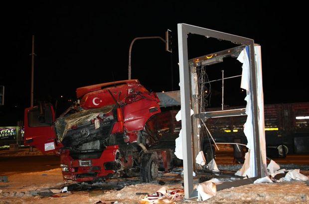 Ankara TIR reklam panosu