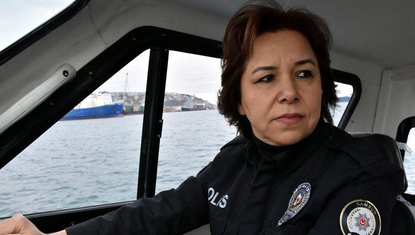 Karadeniz'in hırçın sularında asayiş Ayşe kaptandan soruluyor