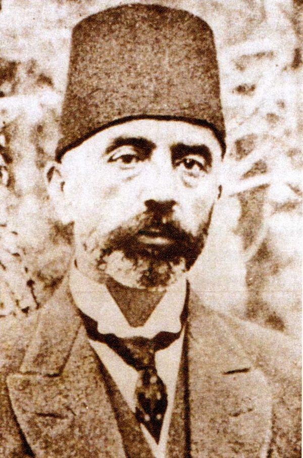 Mehmed Âkif.