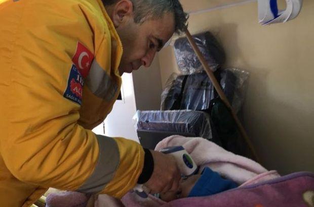 Paletli ambulansla kurtarma