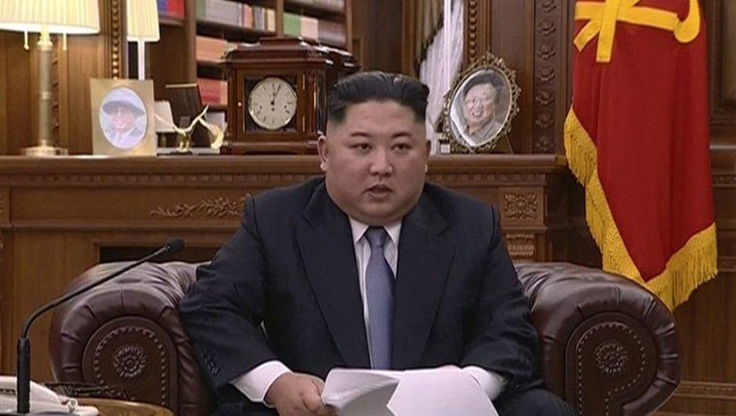 Kuzey Kore lideri yeni yıl mesajında da tehdit etti!