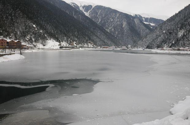 Uzungöl Trabzon buz