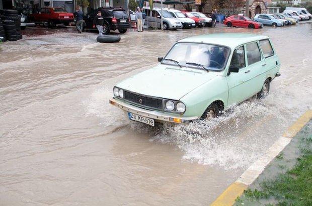 Antalya Muğla yoğun yağış