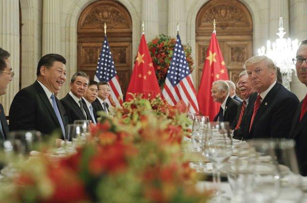 ABD Başkanı Donald Trump ile Çin Devlet Başkanı Şi Cinping, 2 Aralık'ta Arjantin'de bir araya gelmişti