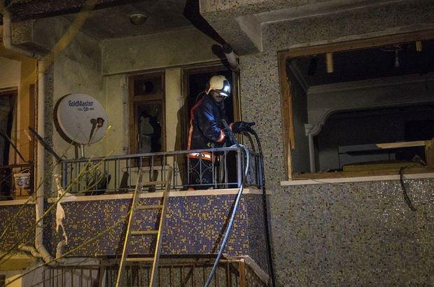 Ankara'da bir binada patlama, yaralılar var