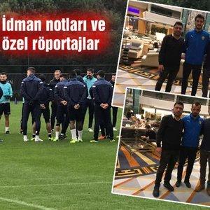 HABERTÜRK SPOR, ANTALYA'DAN BİLDİRİYOR