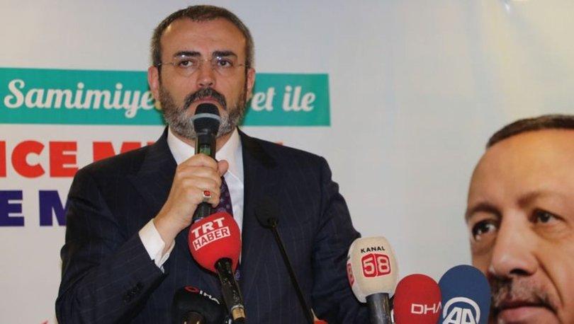 AK Parti Genel Başkan Yardımcısı Mahir Ünal'dan ana muhalefete tepki