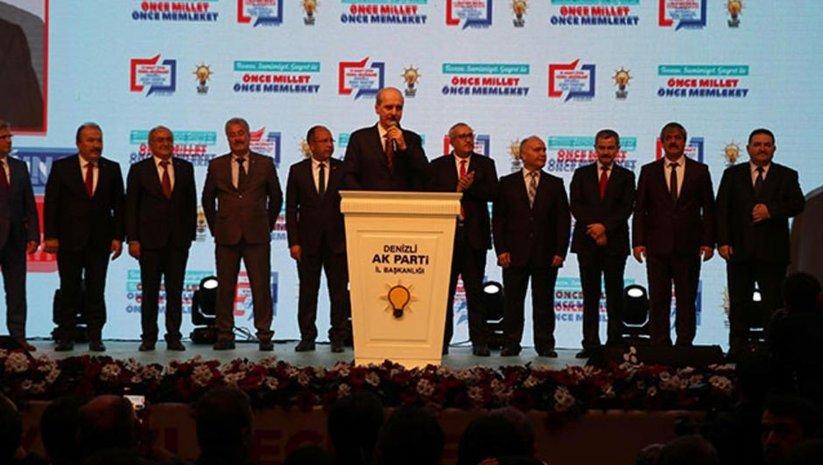 AK Parti'nin Denizli adayları açıklandı