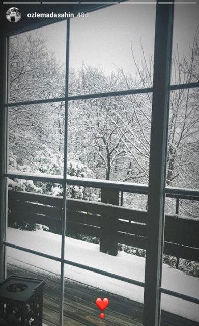 Ünlülerin kar paylaşımları - Magazin haberleri