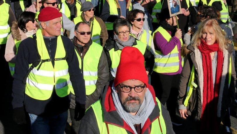 İtalya Sarı Yelekliler Fransa