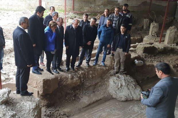 roma dönemine ait mozaik