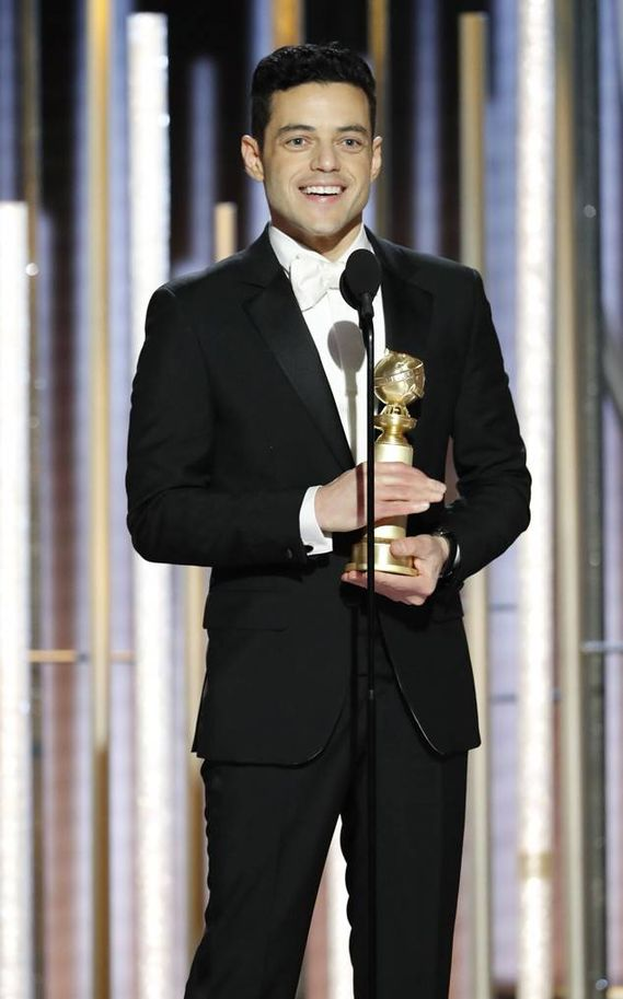 Rami Malek, Bohemian Rhapsody filmiyle drama dalında 'En İyi Erkek Oyuncu' ödülü aldı.
