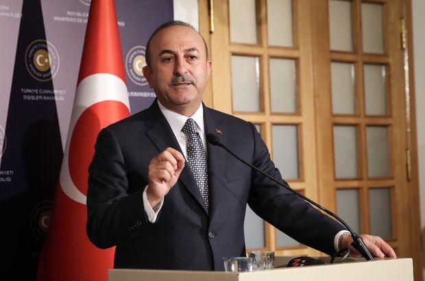 Çavuşoğlu: Terörle mücadele kararlılığımızı sürdürüyoruz!