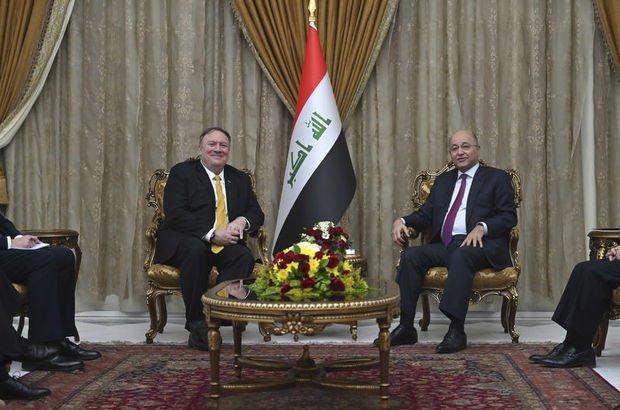 Pompeo'dan Irak'a sürpriz ziyaret!