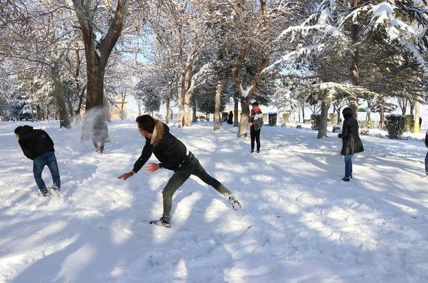 Eğitime kar engeli sürüyor!