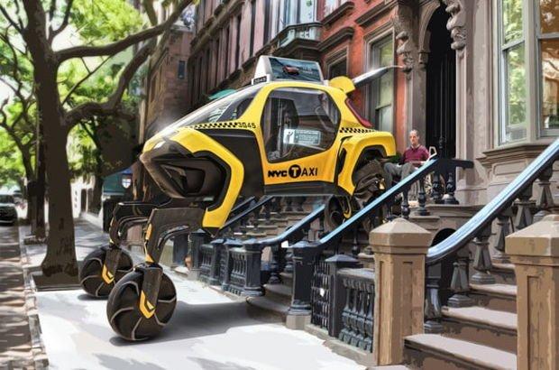 Uçan ve yürüyen otomobiller geliyor!