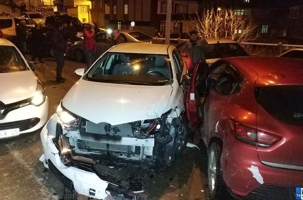 Samsun zincirleme trafik kazası