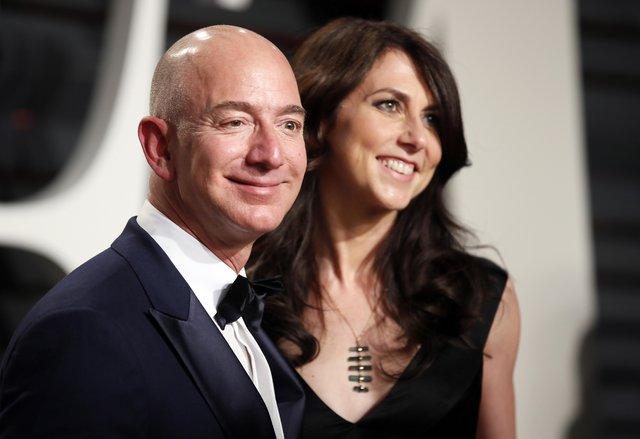 Jeff Bezos ile MacKenzie Bezos'un boşanmasıyla zenginler listesi değişiyor