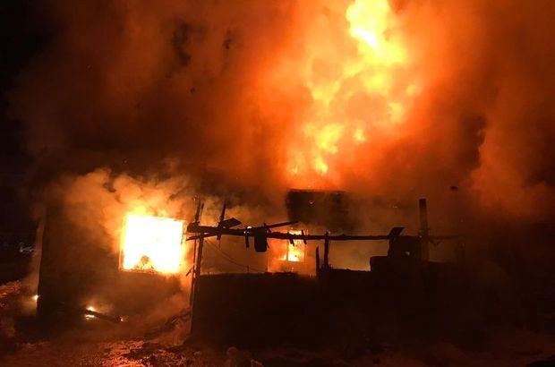 Afyonkarahisar'da yangın