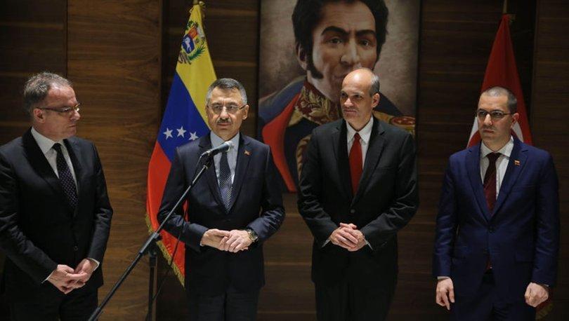 Cumhurbaşkanı Yardımcısı Oktay, Venezuela'da