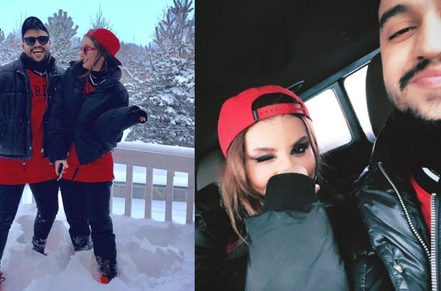 İrem Derici sevgilisiyle Kars tatilinde
