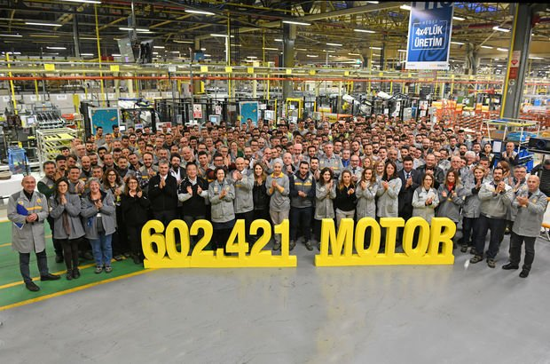 İlk 20 yıldaki motor üretimine 1 yılda ulaştı