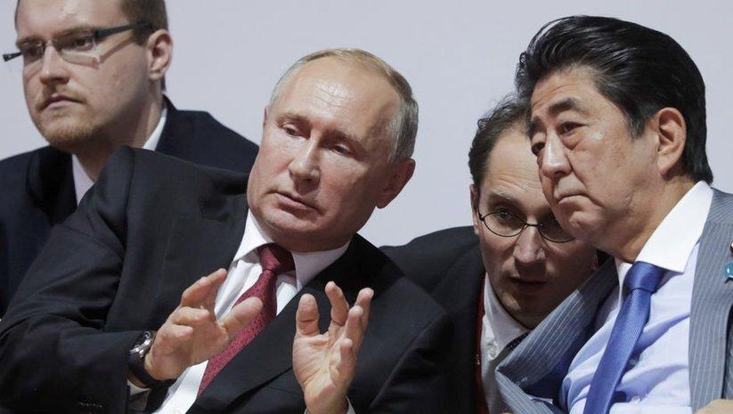 Putin ve Abe görüşmesi öncesi gerginlik!