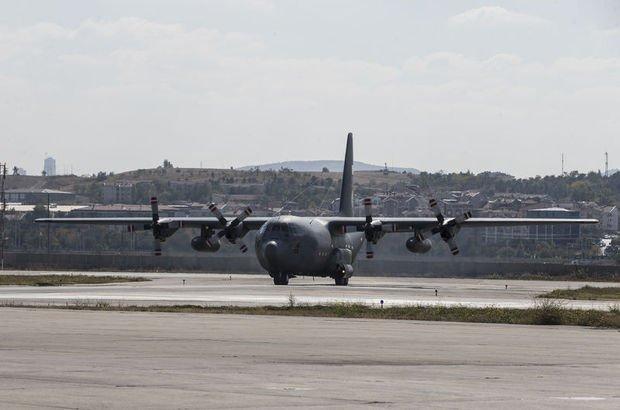 Atatürk Havalimanı askeri kargo uçağı