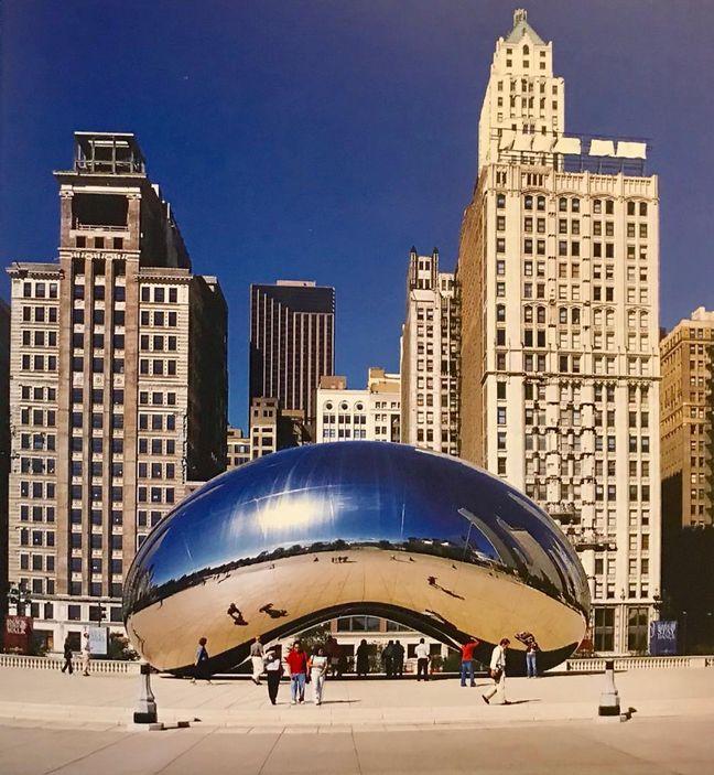 Anish Kapoor, Millenium Park, Şikago- 'Bulut Geçidi'