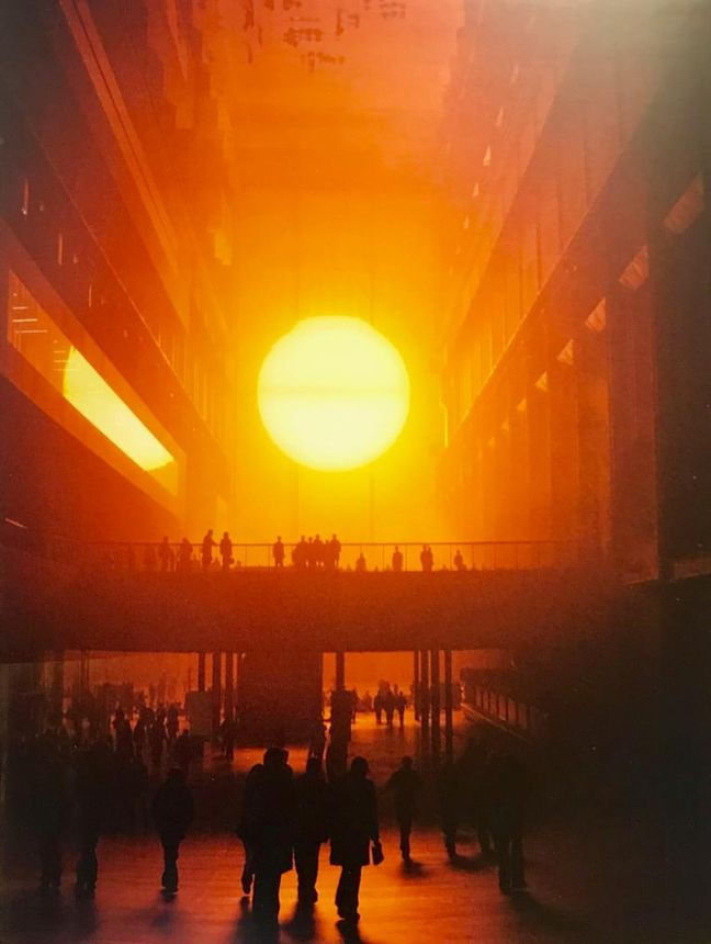 Olafur Eliasson, Tate Modern-Londra, 'Hava Projesi'