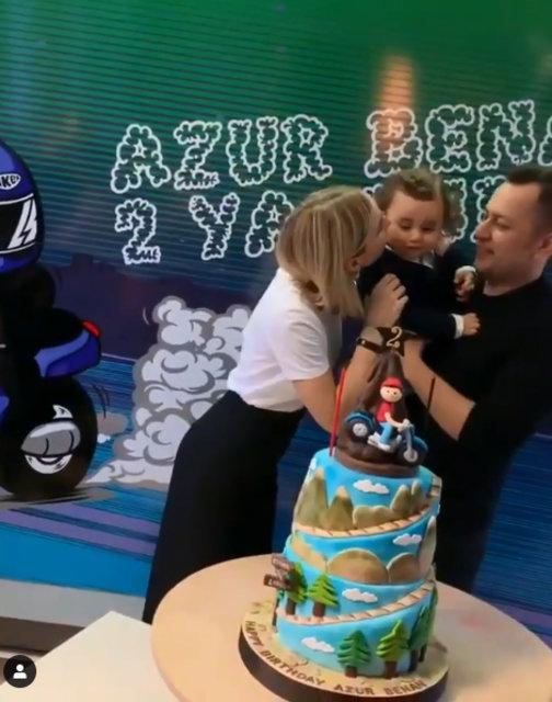 Gülşen-Ozan Çolakoğlu çiftinin çocukları Azur Benan 2 yaşında - Magazin haberleri