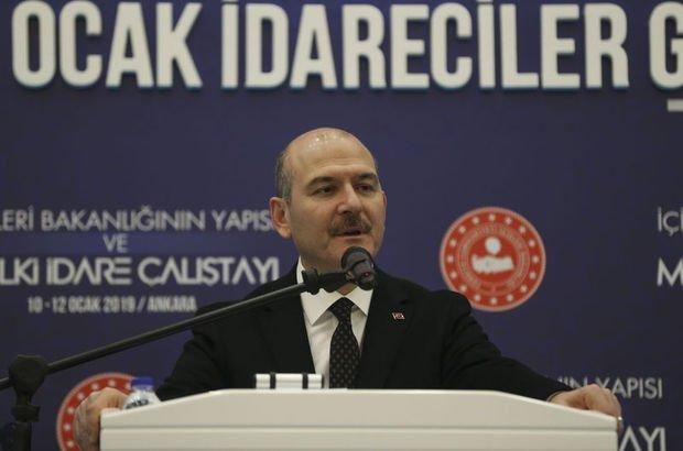 İçİşleri Bakanı Süleymen Soylu