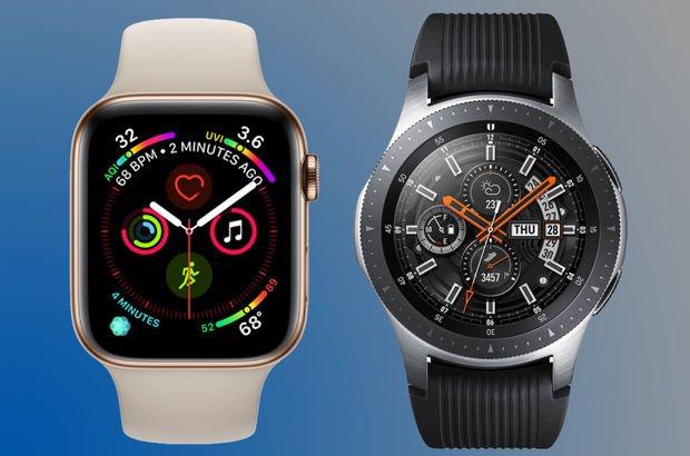 Apple Watch Samsung Watch