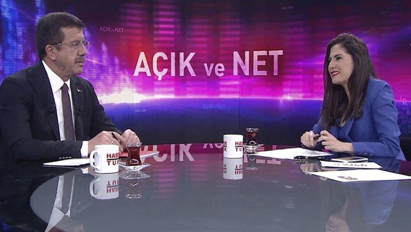Nihat Zeybekci Habertürk TV'de soruları yanıtladı