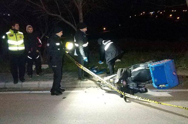 samsun motosiklet kazası