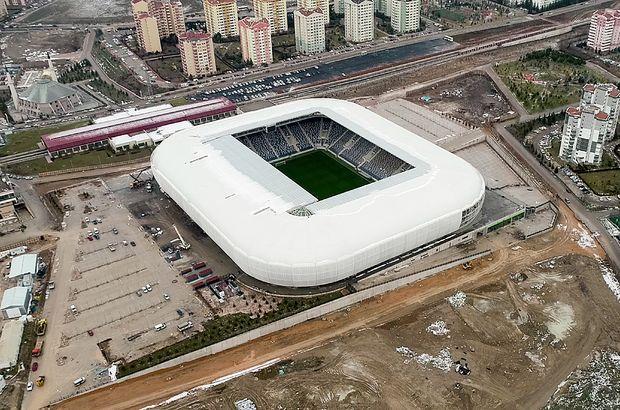 Eryaman Stadı havadan görüntülendi