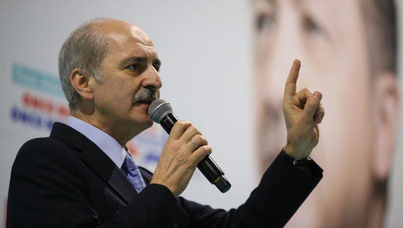 Numan Kurtulmuş Bursa Suriye 31 Mart yerel seçimleri